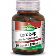 Herbina Kordisep Mantarı 60 Kapsül 620 mg