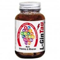L-GinTau Multi Vitamins & Minerals 30 Kapsül x 1000 mg.