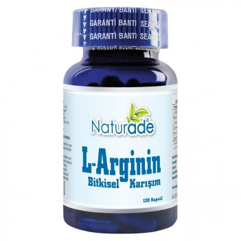 Naturade L-Arginin 120 Kapsül