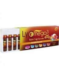 Lyc Omega 3 Portakal Aromalı Balık Yağı Şurup