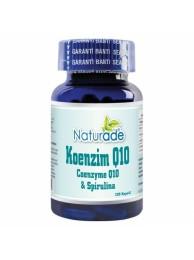 Naturade Koenzim Q10 & Spirulina 120 Kapsül
