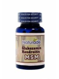 Naturade Glukozamin Kondroitin MSM 120 Kapsül