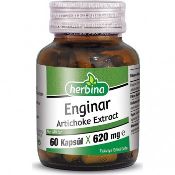 Herbina Enginar Artichoke 60 Kapsül x 620 mg