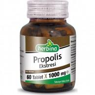 Herbina Propolis Ekstresi 60 Tablet 1000 mg