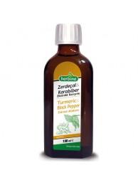 Herbina Zerdeçal Curcumin Karabiber Sıvı Ekstraktı 100 ml