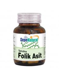 Sepe Natural Folik Asit & Spirulina 60 Kapsül
